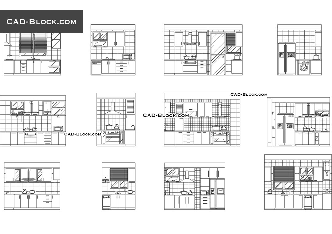 Kitchen Cad Blocks Free Download