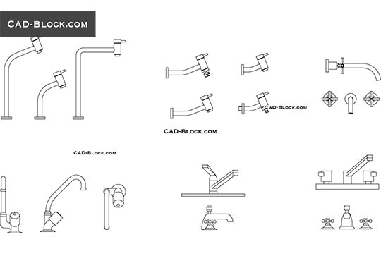 Taps - download free CAD Block