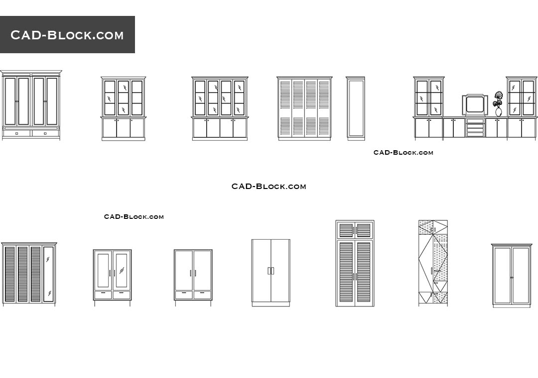 Cupboard Cad Block Download
