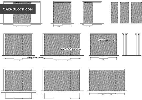 Closets - download free CAD Block