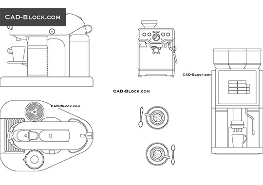 Coffee Machine - free CAD file