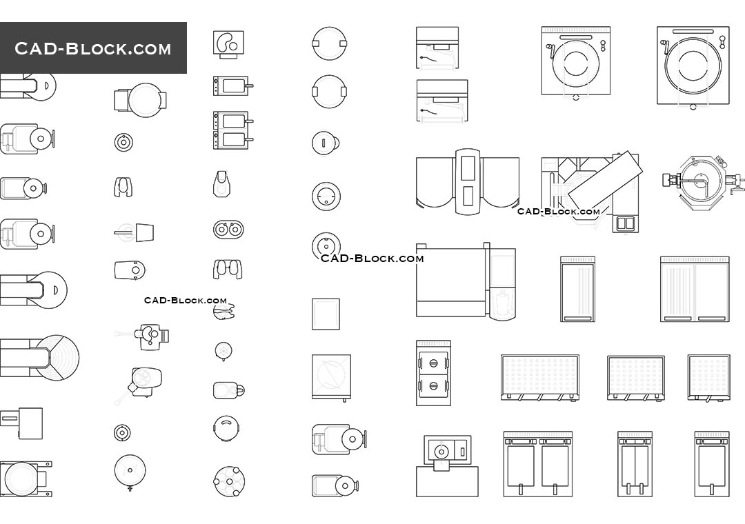 Restaurant Equipment Cad Blocks Details Free Autocad