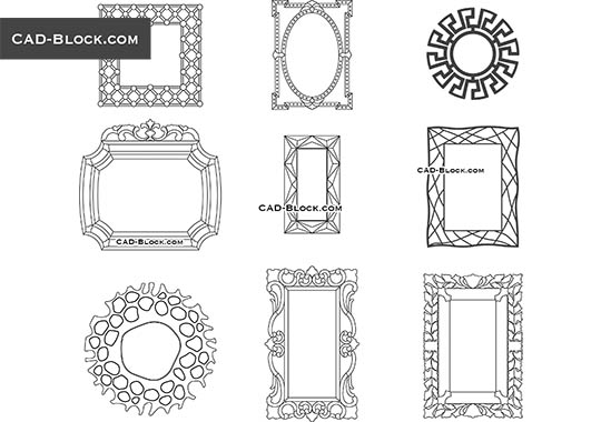Mirror - free CAD file
