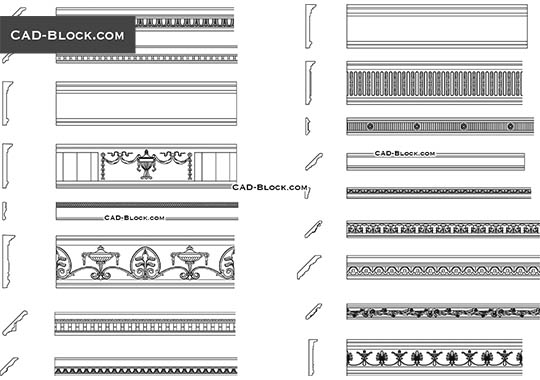 Architectural drawings, free CAD Blocks download