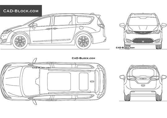Chrysler Pacifica - free CAD file