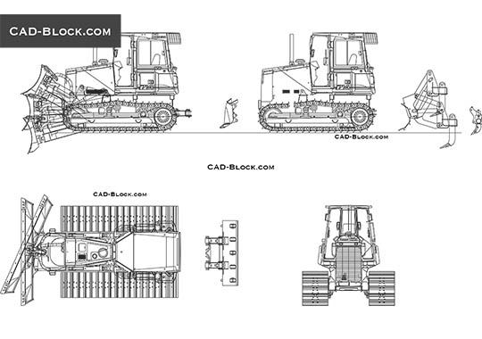 Liebherr PR 714 LGP - download free CAD Block